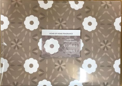 Home of Home Fragrance Scented Drawer Liners - Clear Envelope  - Cotton